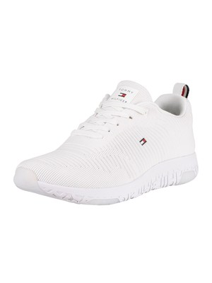 Tommy Hilfiger Corporate Mesh Trainers - White
