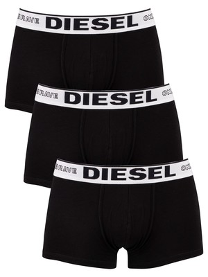 Diesel 3 Pack Damien Modal Trunks - Black