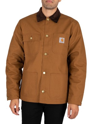 Carhartt WIP Michigan Coat - Hamilton Brown Rigid