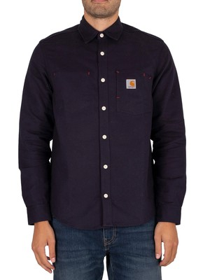 Carhartt WIP Tony Shirt - Dark Navy