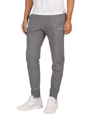 Champion Rib Cuff Joggers - Dark Grey