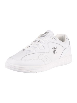 Fila MSL Tennis Leather Trainers - White