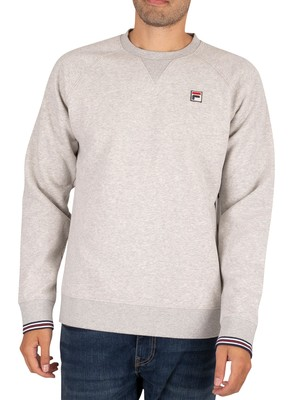 Fila Pozzi Sweatshirt - Light Grey Heather