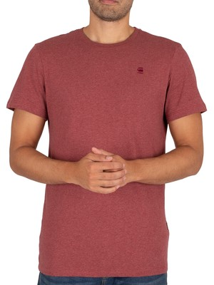 G-Star Base T-Shirt - Dry Red Heather