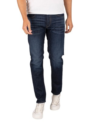G-Star D-Staq 5 Pocket Slim Jeans - Worn In Deep Forest
