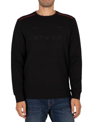 Hackett London AMR Sweatshirt - Black