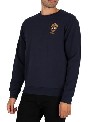 Hackett London Blackwatch Sweatshirt - Navy