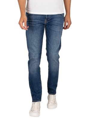 Jack & Jones Glenn Fox 204 Slim Jeans - Blue Denim