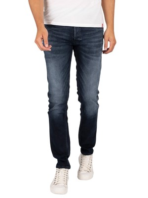 Jack & Jones Glenn Original 210 Slim Jeans - Blue Denim