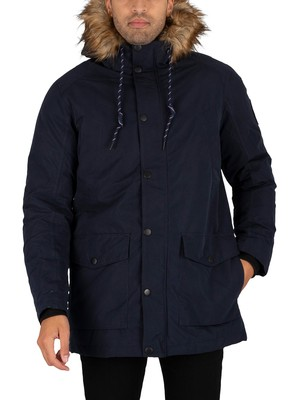 Jack & Jones Sky Parka Jacket - Navy Blazer