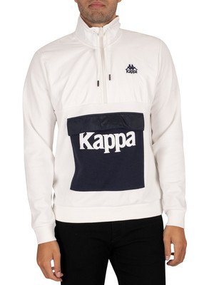 Kappa If Authentic Collar Slim Jacket - Natural/Navy