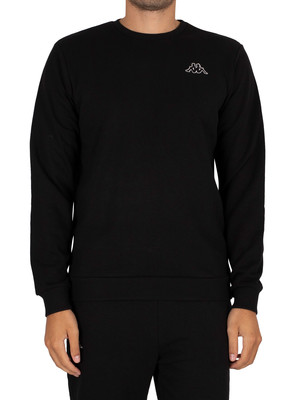 Kappa Kori Slim Sweatshirt - Black