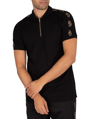 Luke 1977 Black Hole Polo Shirt - Jet Black