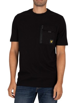 Lyle & Scott Chest Pocket T-Shirt - Jet Black