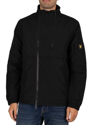 Lyle & Scott Double Zip Jacket - Jet Black