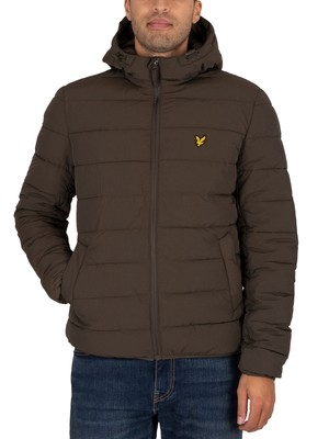 Lyle & Scott Lightweight Puffer Jacket - Trek Green