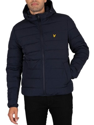 Lyle & Scott Lightweight Puffer Jacket - Dark Navy