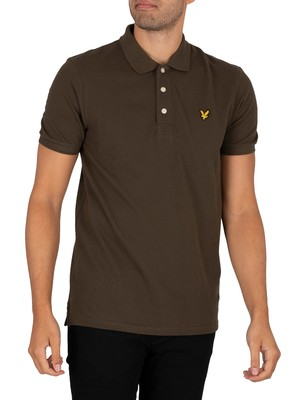 Lyle & Scott Logo Polo Shirt - Trek Green