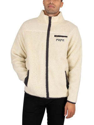 Pepe Jeans Griffin Fleece Jacket - Ointment