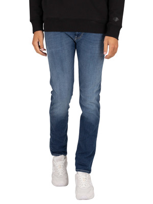Replay Anbass Hyperflex Jeans - Blue