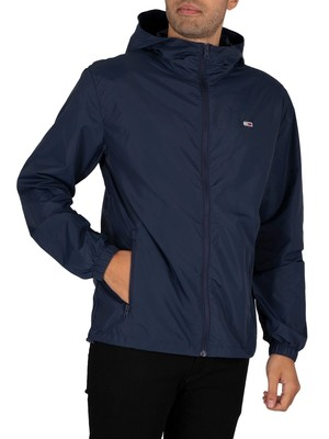Tommy Jeans Packable Windbreaker Jacket - Twilight Navy
