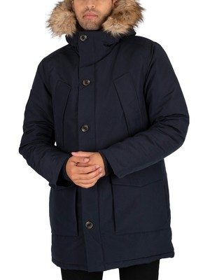 Superdry Everest Parka Jacket - Eclipse Navy