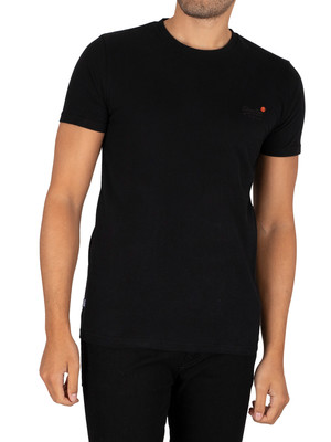 Superdry Vintage EMB T-Shirt - Black