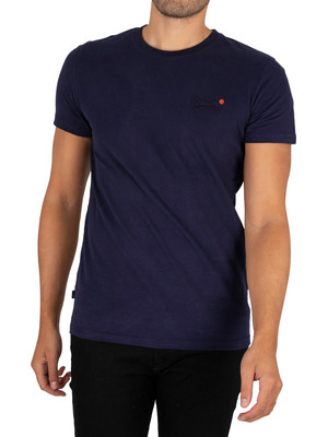 Superdry Vintage EMB T-Shirt - Rich Navy