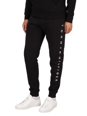 Tommy Hilfiger Basic Branded Joggers - Black
