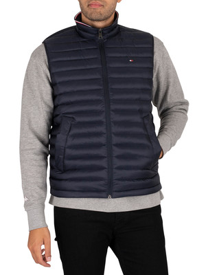 Tommy Hilfiger Core Packable Down Gilet - Sky Captain
