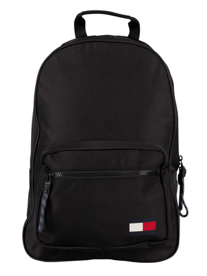 Tommy Hilfiger Flag Backpack - Black