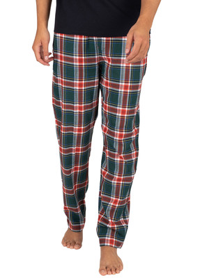 Tommy Hilfiger Flannel Pyjama Bottoms - Holiday Archive Check