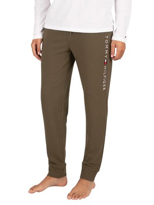 Tommy Hilfiger Rib Lounge Joggers - Army Green