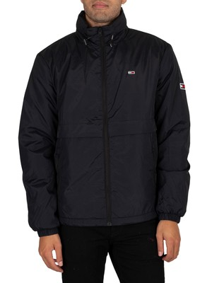 Tommy Jeans Nylon Yoke Jacket - Black
