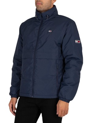 Tommy Jeans Nylon Yoke Jacket - Twilight Navy
