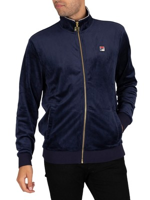 Fila Irving Track Jacket - Peacoat/White