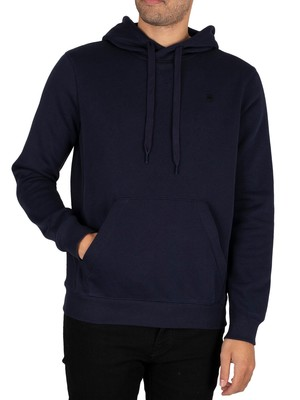 G-Star Premium Core Pullover Hoodie - Sartho Blue