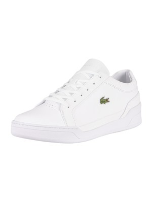 Lacoste Challenge 0120 2 SMA Leather Trainers - White