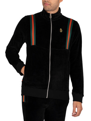 Luke 1977 Dezzy Track Jacket - Jet Black