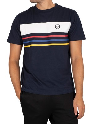 Sergio Tacchini Mayor T-Shirt - Total Eclipse
