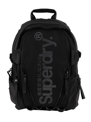 Superdry Combray Tarp Backpack - Black