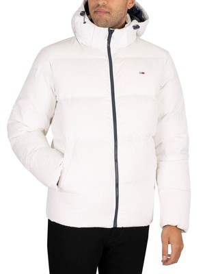 Tommy Jeans Essential Down Jacket - White