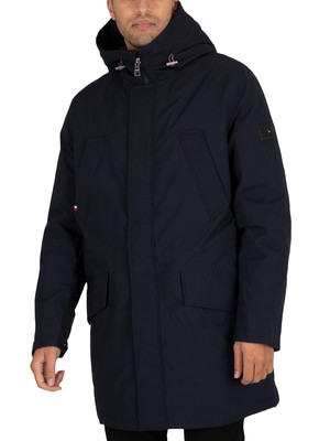Tommy Hilfiger Light Padded Parka Jacket - Desert Sky