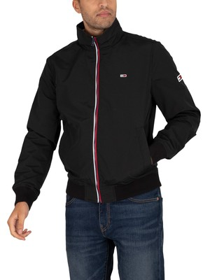 Tommy Jeans Essential Bomber Jacket - Black