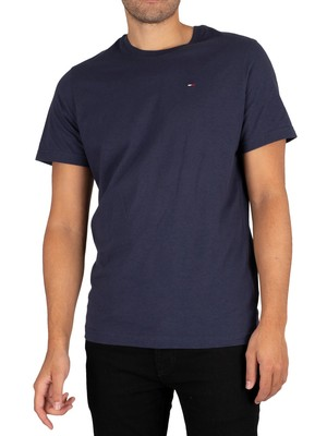 Tommy Jeans Original Jersey T-Shirt - Black Iris Navy
