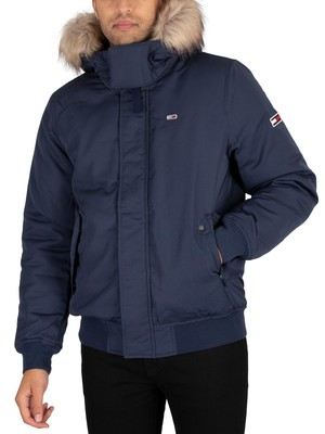 Tommy Jeans Tech Bomber Jacket - Twilight Navy