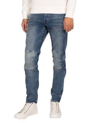 G-Star 5620 3D Slim Jeans - Antic Faded Kyanite