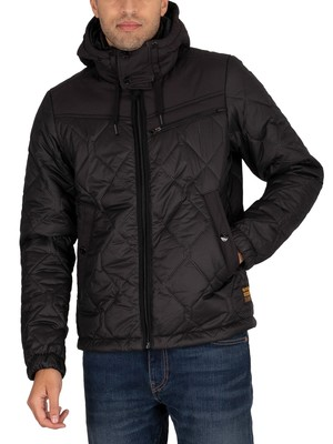 G-Star Attacc Heatseal Quilted Jacket - Dark Black