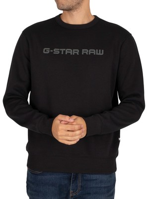 G-Star Loaq Sweatshirt - Dark Black
