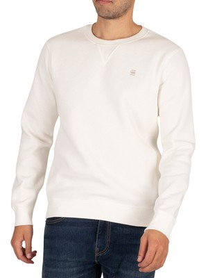 G-Star Premium Core Sweatshirt - Milk